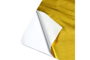 Mishimoto Gold Reflective Barrier w/ Adhesive Backing 12 - Universal