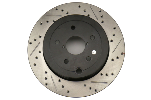 Stoptech Drilled and Slotted Rotor Single Rear Left (Part Number: )