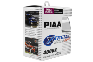 PIAA 9005 120W 4000K Xtreme White Bulb Twin Pack (Part Number: )