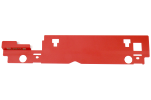Subtle Solutions Radiator Shroud Red - Subaru Forester 1999-2002