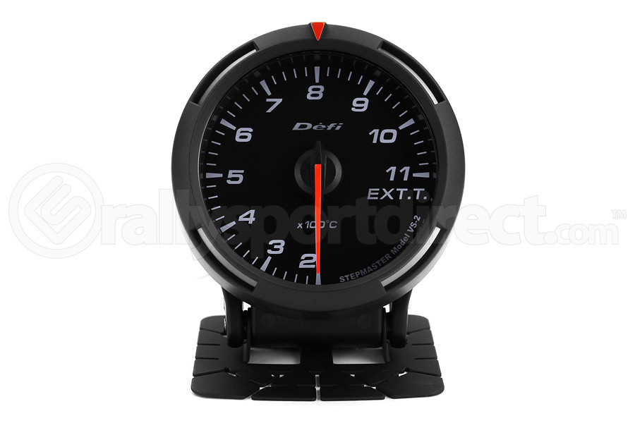 Defi White Racer EGT Exhaust Gas Temperature Gauge Metric 60mm 200-1100C ( Part Number:DEF1 DF11806)