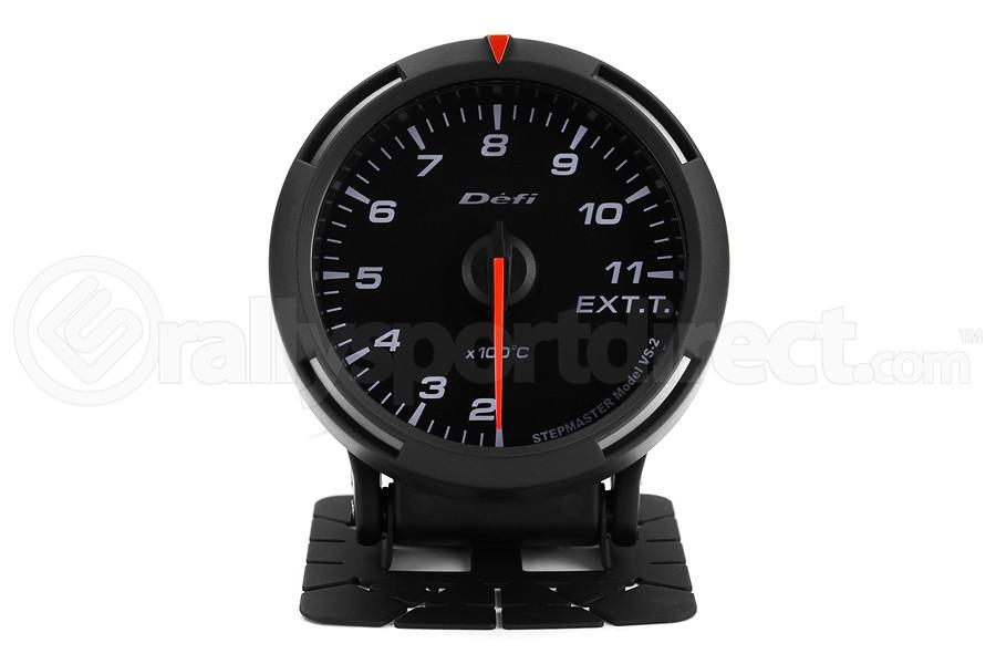 Defi White Racer EGT Exhaust Gas Temperature Gauge Metric 60mm 200-1100C (Part Number:DF11806)