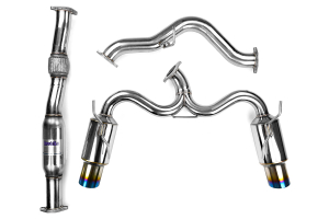Invidia N1 Cat Back Exhaust Titanium Tips (Part Number: HS08STIGTT)