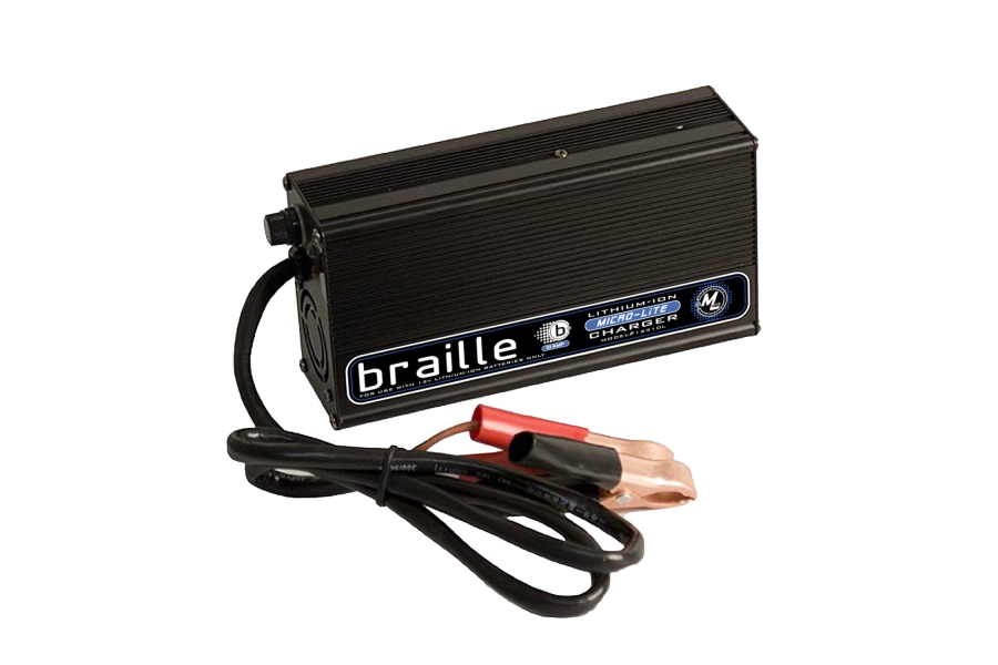 Braille Greenlite 12v Lithium Battery Charger - Universal