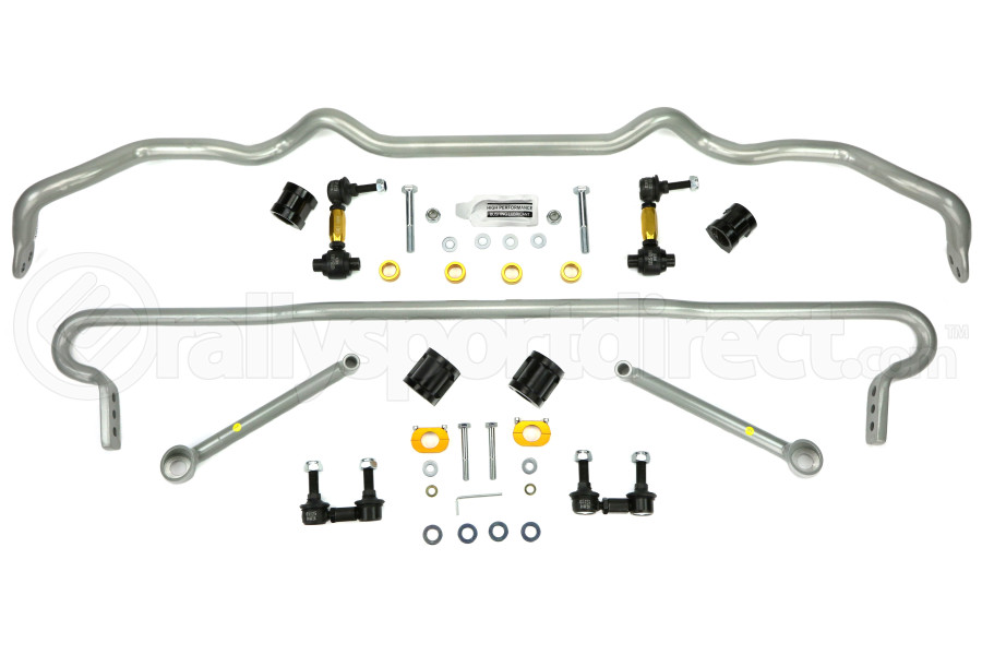 Whiteline Front and Rear Sway Bar Kit w/Endlinks (Part Number:BSK017)