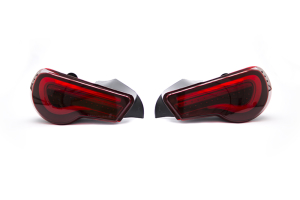 OLM VL Style Sequential Tail Lights Red Edition - Scion FR-S 2013-2016 / Subaru BRZ 2013+ / Toyota 86 2017+