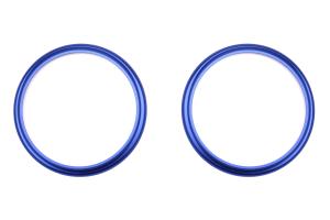 GCS Aluminum Outer AC Vent Trim Blue - Scion FR-S 2013-2016 / Subaru BRZ 2013+ / Toyota 86 2017+