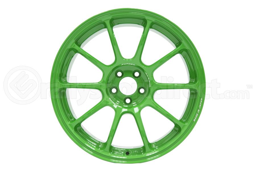 Volk ZE40 18x9.5 +38 5x114.3 Takata Green - Universal