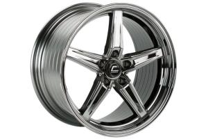 Cosmis Racing R5 18x9.5 +30 5x114.3 Black Chrome - Universal