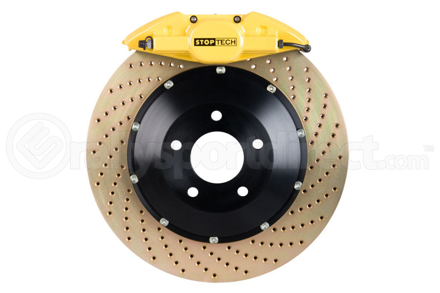 Stoptech ST-22 Big Brake Kit Rear 345mm Yellow Zinc Drilled Rotors (Part Number:83.842.002G.84)