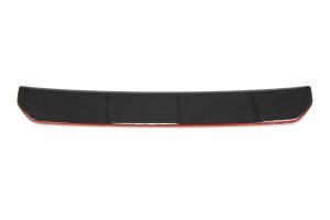 OLM Gloss Black S Style Rear Diffuser w/ Red Line - Subaru WRX / STI 2015+
