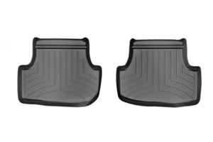 Weathertech Floorliner Black Rear - Volkswagen Golf/GTI (Mk7) 2015+ / Audi A3/S3 2015+