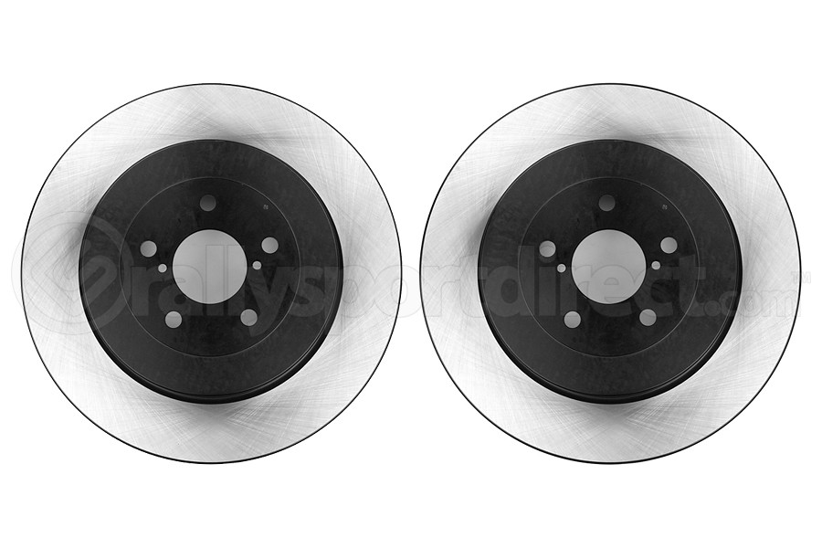 Centric Premium High-Carbon Brake Rotor Pair Rear (Part Number:125.47020-GRP)