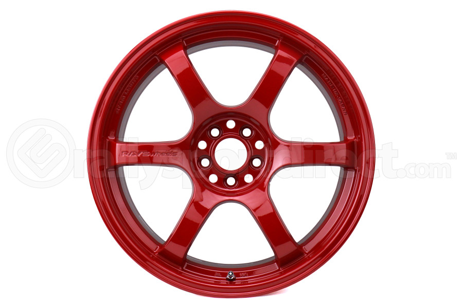 Gram Lights 57DR 18x9.5 +38 5x100 Milano Red - Universal