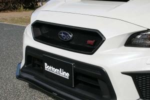 ChargeSpeed Carbon Fiber Grille w/ Emblem Mount - Subaru WRX / STI 2018-2021