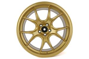 Ambit FF3 18x9.5 +35 5x100 Gold Wheel - Universal