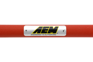AEM Front Strut Bar Red ( Part Number:AEM 29-0011WR)