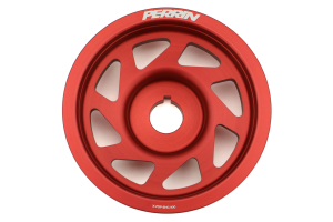 PERRIN Lightweight Crank Pulley Red ( Part Number: PSP-ENG-100RD)