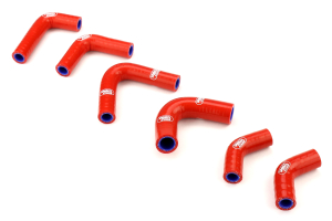 Samco Ancillary Hose Kit Red - Subaru STI 2008-2014