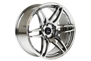 Cosmis Racing Wheels MRII 18x8.5 +22 5x100 Black Chrome - Universal