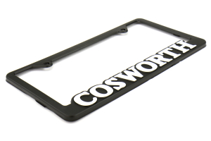 Cosworth License Plate Frame Black (Part Number: 30006010)