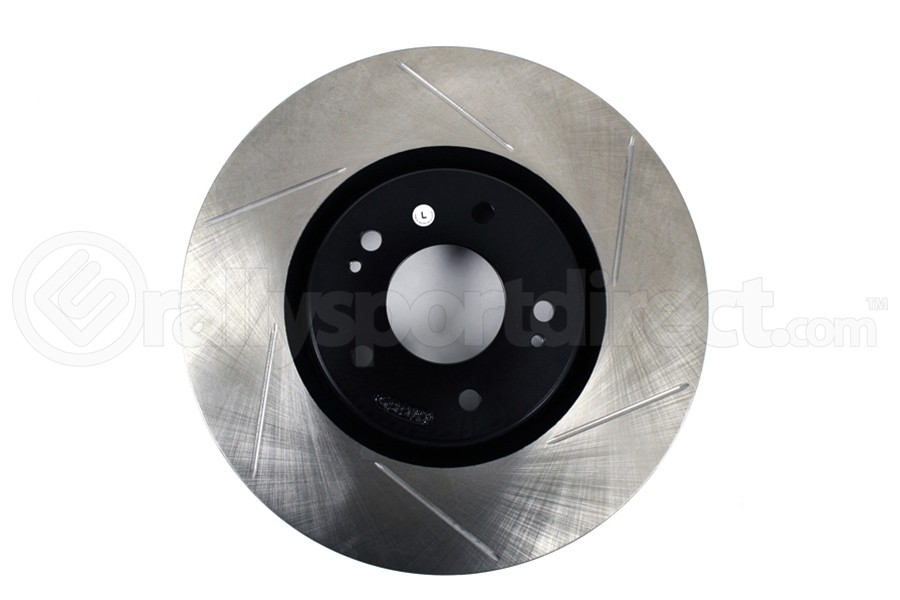Powerslot Slotted Front Left Rotor Single ( Part Number:PWS 126.46064SL)