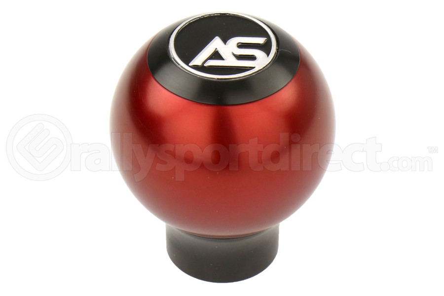 AutoStyled 6 Speed Shift Knob Black w/ Red Aluminum Center ( Part Number:ASA 1501030103)