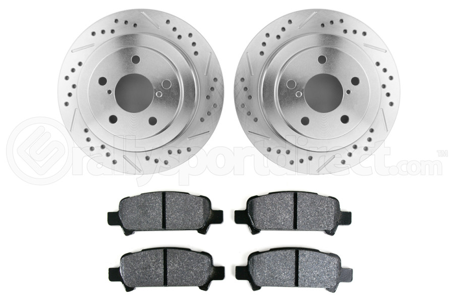 Hawk Performance Rotors w/ PC Pads Kit Rear ( Part Number:HAW4 HK5139.434Z)