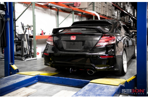 Seibon Carbon Fiber SI-Style Rear Spoiler - Honda Civic Coupe 2014-2015