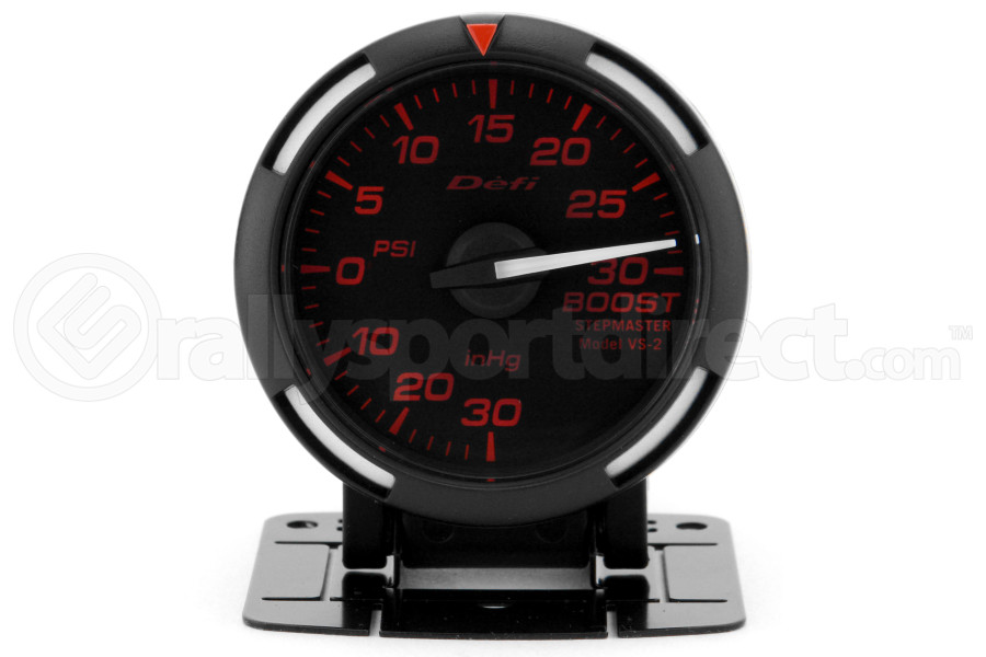Defi Red Racer Boost Gauge Imperial 52mm 30 PSI White Needle ( Part Number:DEF1 DF06507)