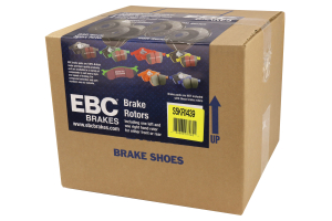 EBC Brakes S5 Rear Brake Kit Yellowstuff Pads and 3GD Rotors - Ford Focus ST 2013+