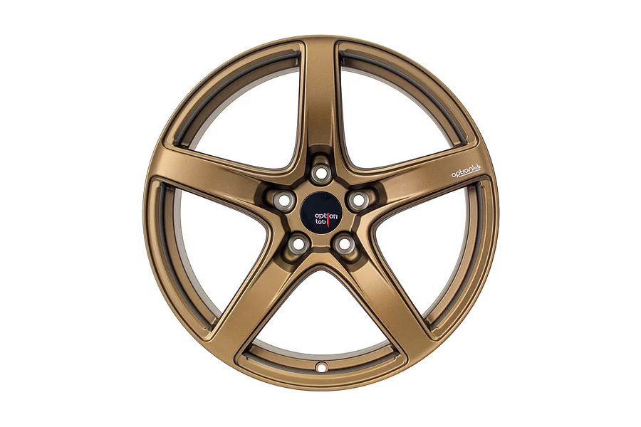 Option Lab Wheels R555 18x8.5 +35 5x114.3 Formula Bronze - Universal