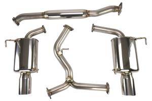 Fujitsubo Authorize R Cat-Back Exhaust System - Subaru WRX / STI 2015+