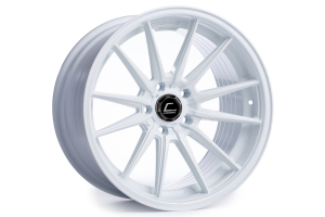 Cosmis Racing Wheels R1 18x8.5 +35 5x114.3 White - Universal