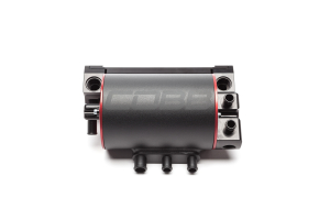 COBB Tuning Air Oil Separator Black/Red - Subaru WRX 2015+