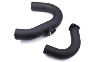 ETS Front Mount Intercooler Piping Kit w/ HKS BOV Flange Wrinkle Black  - Subaru WRX 2015-2021