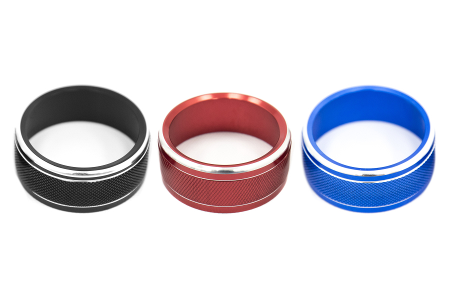 JDM Station Textured Climate Control Knob Covers - Subaru Models (inc. 2015+ WRX / 2014+ Forester)