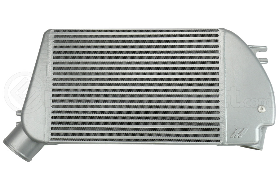 Mishimoto Race Top Mount Intercooler Silver - Subaru WRX 2015+