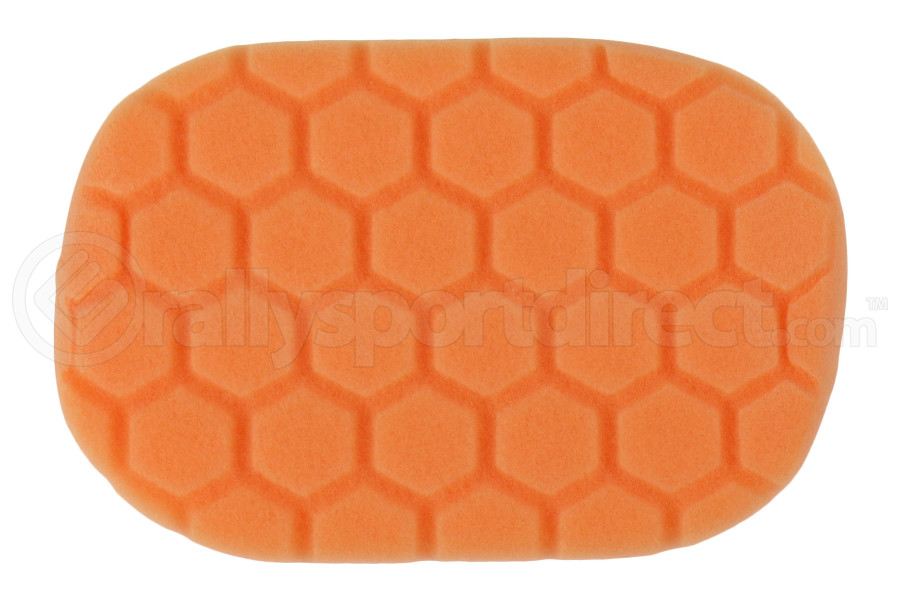 Chemical Guys Hex-Logic Hand Applicator Pad Orange (Part Number:BUFX_201)