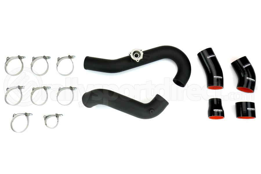 Mishimoto Intercooler Pipe Kit Wrinkle Black - Ford Mustang EcoBoost 2015+