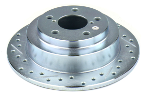 Stoptech C-Tek Sport Drilled and Slotted Rotor Single Rear Right - Subaru Models (inc. 2002-2005 WRX)