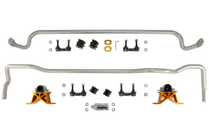 Whiteline Front and Rear Sway Bar Kit w/ Endlinks (Part Number: )
