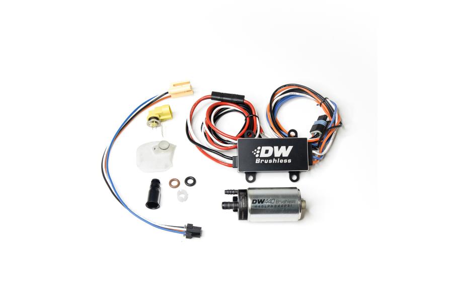 DeatschWerks 440lph in-tank brushless fuel pump + PWM controller w/ 9-0910 install kit - Subaru Models (inc. 2008-2014 WRX / 2008+ STI)