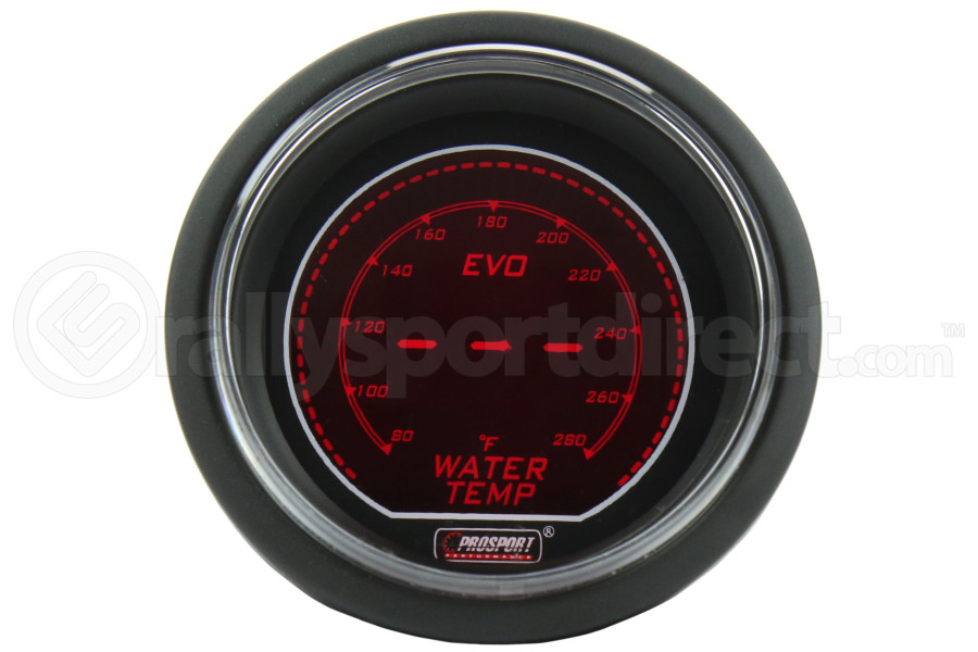 ProSport EVO Water Temperature Gauge (Part Number:216EVOWT.F)