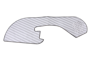 Revel GT Design Kick Panel Cover w/ Blue Stitch - Subaru WRX / STI 2016-2019