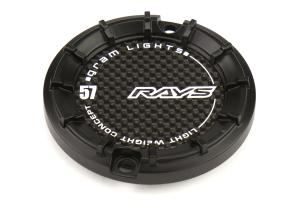 Gram Lights 57Transcend Center Cap Small Ring Black - Universal