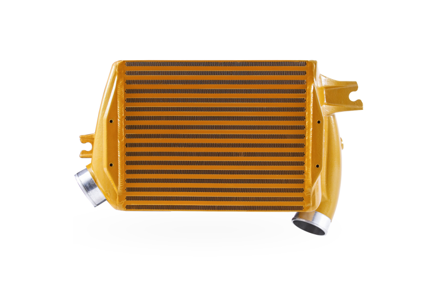 Mishimoto Street Performance Top Mount Intercooler Gold - Subaru WRX 2015+