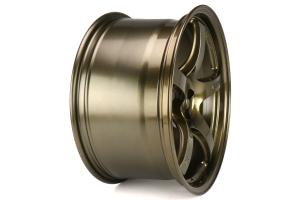Gram Lights 57CR 18x9.5 +38 5x100 Almite Gold - Universal