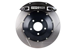 Stoptech ST-40 Big Brake Kit Front 345mm Black Slotted Rotors (Part Number: 83.625.004G.51)