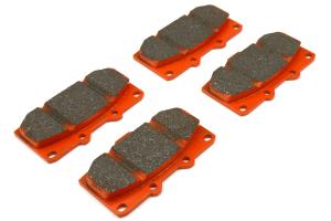 EBC Brakes Orangestuff Race Front Brake Pads - Subaru WRX 2006-2007 / Nissan 300ZX 1984-1996